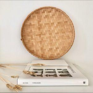 Vintage Circular Basket